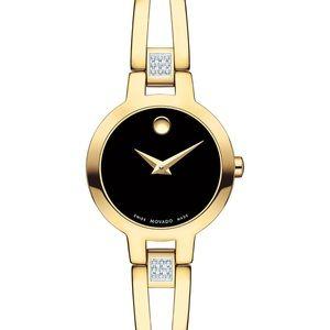 Movado Swiss Amorosa Diamond accent  women's watch